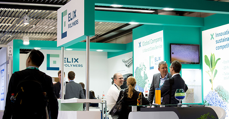 photography for ELIX Polymers at K 2016